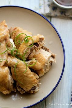 steamed chicken recipe.  For a simple quick meal, i do mine by just marinating the chicken with sesame oil, wine and salt then steam for 20 minutes
