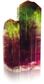 The Egyptians used tourmaline for both physical and emotional remedies. They believed that tourmaline could heal the nervous system, blood diseases and lymph glands.