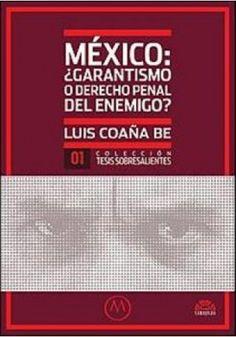México : ¿garantismo o derecho penal del enemigo? / Luis David Coaña Be