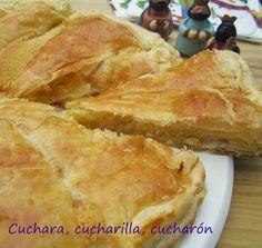 Cuchara, cucharilla, cucharón: Galette des Rois (tarta de los Reyes)