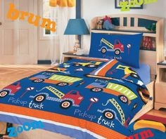 Duvet Covers Kids Single Dinosaur / Truck / Football / Fair Cupcake (Truck) Textiles Direct http://www.amazon.co.uk/dp/B00A0NWCFI/ref=cm_sw_r_pi_dp_pbZfub1GR31CY