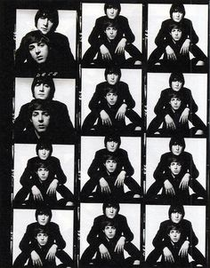 Shooting Film: Interesting Contact Sheets of a Photo Session with John Lennon and Paul McCartney in 1965