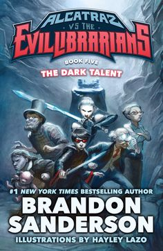 Alcatraz Versus the Evil Librarians: The Dark Talent Cover Art Revealed! (Updated) - Brandon and Book News - 17th Shard News