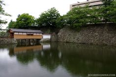 Japanese castles I've visited: #13 Fukui Castle Ruins in Fukui City, Fukui Prefecture. Not so much left to see and there's an official huge office building on the castle grounds now.