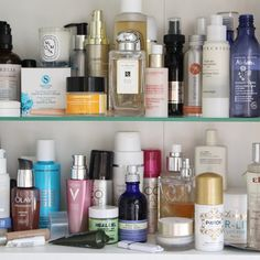 The bathroom cabinet pre-sorting. Spot any favourites