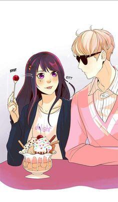 Flawless - Elios and Sarah Flawless Webtoon, Manga Anime, Anime Art, Webtoon Comics, Anime Ships, Anime Couples, Memes, Anime Characters, Horror