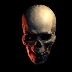 Skull Tattoo Design, Skull Tattoos, Monster Pictures, Skull Reference, Blackout Tattoo, Totenkopf Tattoos, Gothic Aesthetic, Human Skull, Anatomy Art