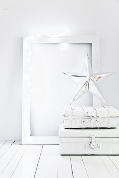 100 Christmas ideas - 5 themes / white and bright / white Christmas styling by Paulina Arcklin