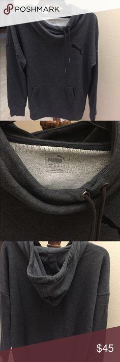 71728cfbb5b BRAND NEW W TAG Dark Grey PUMA Hoodie Sweater ▫️BRAND NEW WITH TAG PUMA  Hoodie ▫️LIMITED EDITION ▫️Drawstring closure ▫️Machine Wash ▫️Hood with ...