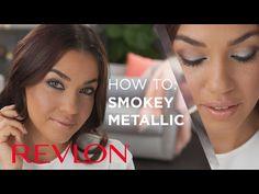 Traditional Looks, Eye Make Up, Makeup Videos, Fall Trends, Cosmetology, Revlon, Smokey Eye, Hair Makeup, Metallic