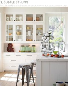 Three Ways: Rustic Kitchens - Bright.Bazaar