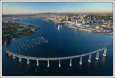Coronado Island Bridge.  I remember when you had to take the ferry.
