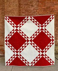 Diamond Path Quilt Pattern| Modern Quilt Diamond Path Quilt is a versatile quilt pattern that looks great with a variety of fabrics and colors. It is labeled as a confident beginner pattern. This listing is for the digital PDF copy of this pattern. You will receive a PDF file to download to your Half Square Triangle Quilts, Modern Quilt Patterns, Traditional Quilts, Blue Quilts, Quilt Making, Sell On Etsy, Pattern Making, Quilting Designs, Quilt Blocks