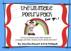The Ultimate Poetry Pack - Aligned with Common Core