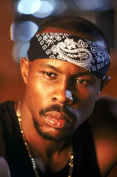 Wood Harris in The Wire as Avon Barksdale.