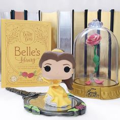 If you could be friends with any Disney princess who would you choose? I think I would hands down choose Belle. Hanging out in her huge library in a beautiful castle drinking tea made for us by Mrs. Potts? Sounds like perfection! #funko #funkopop #topfunkophotos #funkofamily #funkoaddict #bookish #bookstagram #igreads #bookworm #booklover #bookblogger #bookishpopmonday #bookphoto #beautyandthebeast #belle #disney #disneypic #disneylife #disneygram #disneyside #igdisney #tfp_wizardmagic…