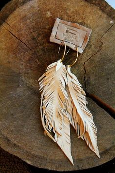 #earring #accessories. Leaf. Leaves. Boho style. For more followwww.pinterest.com/ninayayand stay positively #inspired
