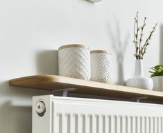 Solid oak radiator shelves offer a stylish solution to your shelving needs and are suitable for any radiator in any room or space around your home