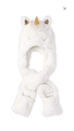 Shop for The Children's Place Girls Glitter Unicorn Faux Fur Hat Scarf. Check out our great selection of kids clothes, baby clothes & more at the PLACE where big fashion meets little prices! Christmas Gift Videos, Christmas Recipes For Kids, Christmas Gifts For Him, Kids Christmas, Christmas Clothes, Unicorn Face, Unicorn Gifts, Unicorn Party, Gifts For Girls