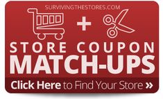 Are you looking for deals and coupon match-ups for a particular grocery or drug store? Just click on the logo below to see any store coupons and deals for that store!