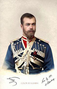 Николай II, 1894. Color by Klimbim