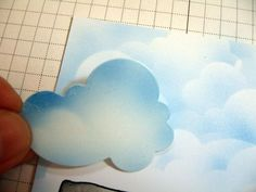 Making a Cloud Background Tutorial by Tracy Clemente