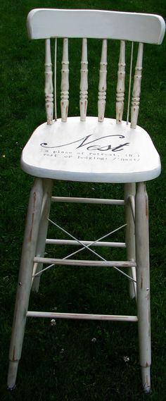 Upcycling My (ordinary) Life!: Chair and a printable