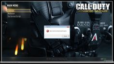 Call of Duty Advanced Warfare Steam Must Be Running to Play This Game Error solutions...