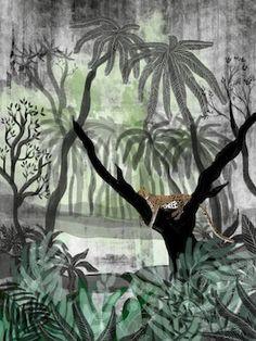 Jungle - Kate Morgan - Artist & Illustrator