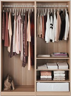 IKEA - PAX Wardrobe white stained oak effect, Auli Ilseng Pax System, Pax Wardrobe, Wardrobe Rack, Glass Wardrobe, White Wardrobe, Ikea Skubb, Ikea Ikea, Pax Planer, Mirror With Hooks