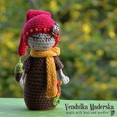 Meine kleine Eiche Hubby  häkeln Muster DIY von VendulkaM auf Etsy, $5.30