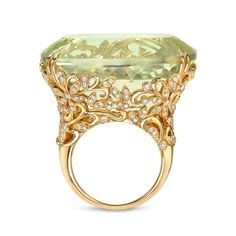 Shop diamond and sapphire fashion rings and other antique and vintage rings from the world's best jewelry dealers. High Jewelry, Luxury Jewelry, Jewelry Rings, Gold Diamond Rings, Yellow Gold Rings, Yellow Diamonds, Pink Sapphire, Diamond Jewelry, The Bling Ring