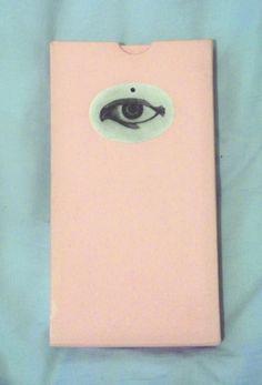 #book #eye #pouch