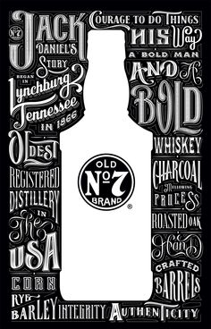 I designed a double sleeve gift pack for Jack Daniel's. By Luke Ritchie