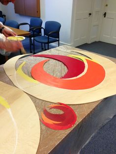 creating and displaying religious art. DIY to creating art and visuals for worship.
