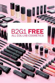 New. Created by Beauty Influencers. COL-LAB is B2G1 Free!
