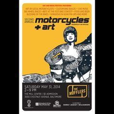 ATTN Baltimore ⚡⚡ Coming your way. May 31st  #TheMufflers  #motolady #motobabes #Padgram