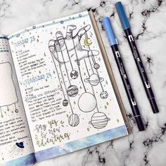 Simple Bullet Journal Ideas to Simplify your Daily Activity Sim. - Simple Bullet Journal Ideas to Simplify your Daily Activity Simple Bullet Journal - Bullet Journal Inspo, Bullet Journal Simple, Bullet Journal 2019, Bullet Journal Aesthetic, Bullet Journal Spread, Bullet Journal Layout, Bullet Journal Ideas Pages, Bullet Journals, Doodle Inspiration
