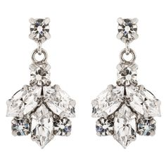 earrings | Martine Wester Ivy Drop Earrings - Bridal Jewellery - Crystal Bridal ...