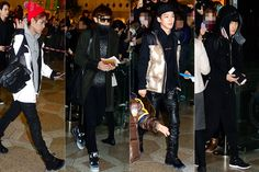 EXO's Baekhyun, Chanyeol, Chen and D.O Depart for Baidu Music Awards in Beijing via the Gimpo Aiport - Dec 22, 2013 [PHOTOS] More: http://www.kpopstarz.com/articles/70689/20131223/exos-suho-baekhyun-chanyeol-chen-d-o-depart-baidu-music.htm