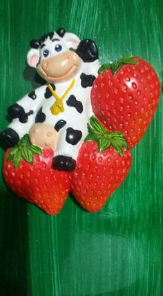 Animal Decor, Cows, Farm Animals, Biscuit, Strawberry, Barbie, Outdoor Decor, Collection, Alphabet