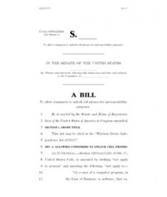 03-05-2013 Wireless Device Independence Act Bill Text