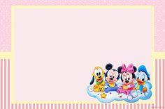 Kit imprimible de Disney Baby para niñas