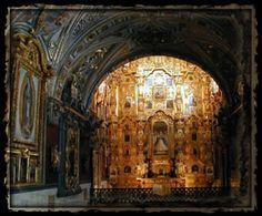 Altar del convento de Tepozotlan