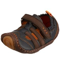 umi Sail Crib Shoe InfantToddlerChocolateNavy16 EU US Infant 12 M * Check out the image by visiting the link.Note:It is affiliate link to Amazon. #babyootd