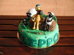 SHAUN THE SHEEP CAKE Shaun The Sheep Cake, Sparkle, Cakes, Animal, Desserts, Food, Tailgate Desserts, Deserts, Cake Makers