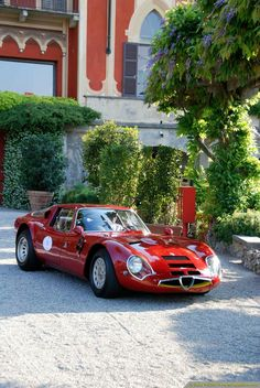 1965 Alfa Romeo TZ2..Re-pin...Brought to you by #CarInsurance at #HouseofInsurance in Eugene, Oregon