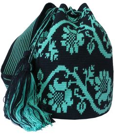 Wayuu Mochila Bag by ACROSS THE PUDDLE