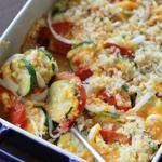 Zucchini and Tomato Bake