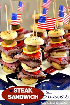 Steak Sandwich Stackers